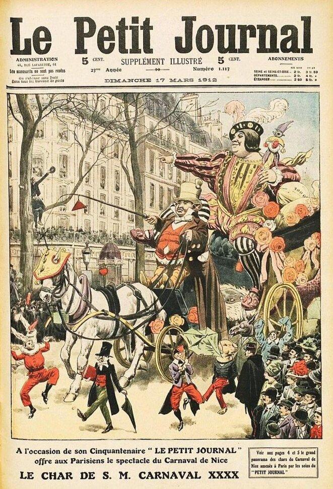 La une du Petit Journal du 17 mars 1912