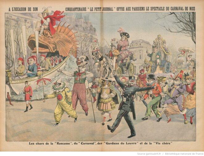La double page centrale du Petit Journal du 17 mars 1912