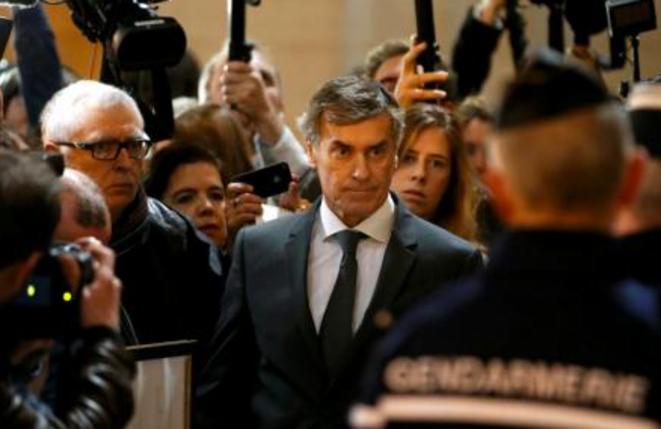 Jérôme Cahuzac, le 8 février dernier au tribunal © Reuters