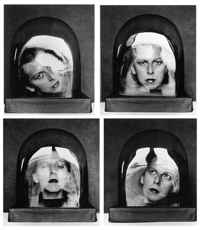 « Studies for a keepsake », 1926 © Luce et Adrien Ostier Barbier