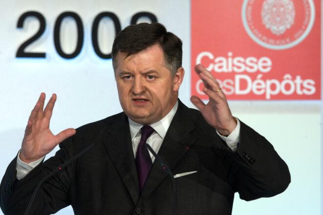 Augustin de Romanet, directeur général de la CDC en 2009 © Reuters