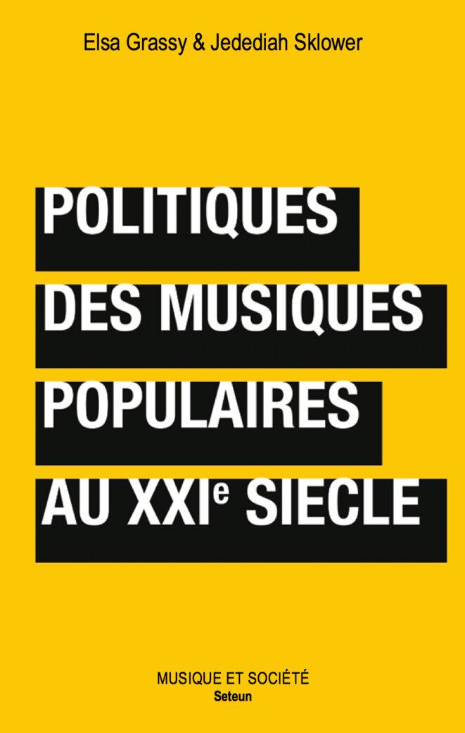Politiques des musiques populaires au XXIe siècle - couverture