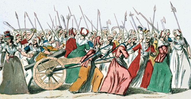 Marche des femmes sur Versailles, 5 octobre 1789 © DR