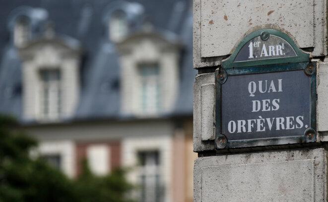 Le 36, quai des Orfèvres, siège de la police judiciaire parisienne. © Reuters