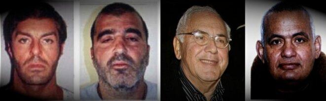 Amar Azzoug, Samy Souied, Claude Dray et Albert Taieb