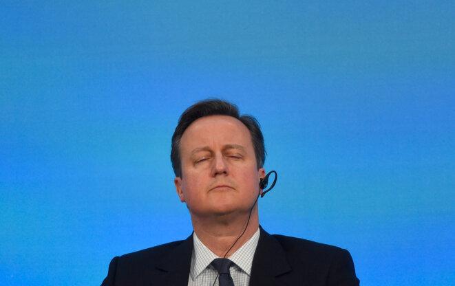 David Cameron le 4 février 2016 à Londres. © Toby Melville / Reuters.