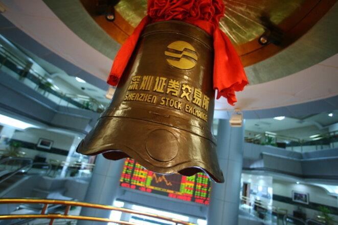 Bourse de Shenzhen (Chine) © Lucas Shifres / PIctobank