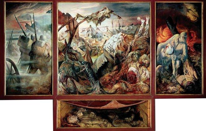 « La guerre » (triptyque, 1929-1932), Otto Dix © DR