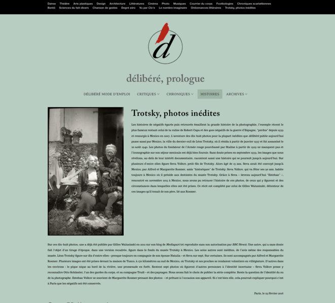 Page de titre de Délinéré, 23 février 2016