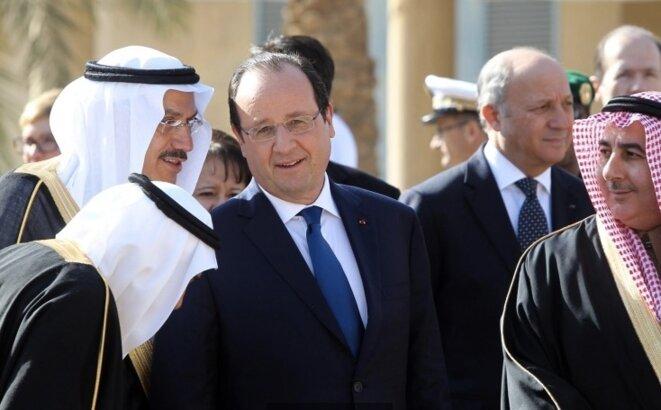François Hollande à Riyad le 30 décembre 2013. © Présidence de la République.