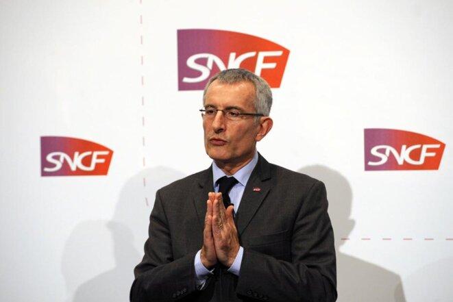 Guillaume Pepy, président de la SNCF, avait reconnu la responsabilité de l'entreprise juste après l'accident de Brétigny. © Reuters