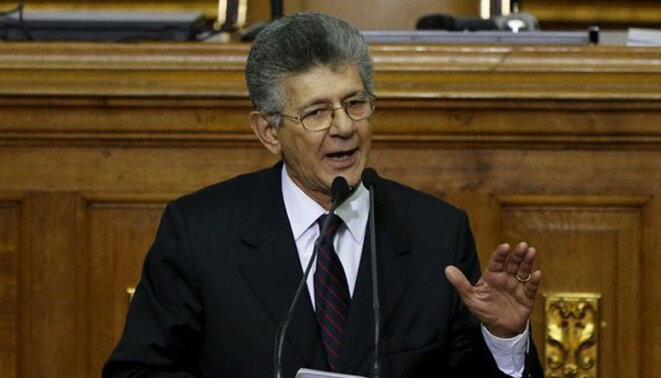 Henry Ramos Allup - Social Démocrate - Vice Président de l'Internationale Socialiste - Président de l'Assemblée Nationale