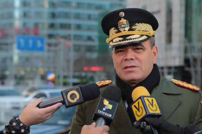 Général et Ministre de la Défense Vladimir Padrino Lopez - Le militaire qui controle l'Armée et les Ressources Minières du Venezuela