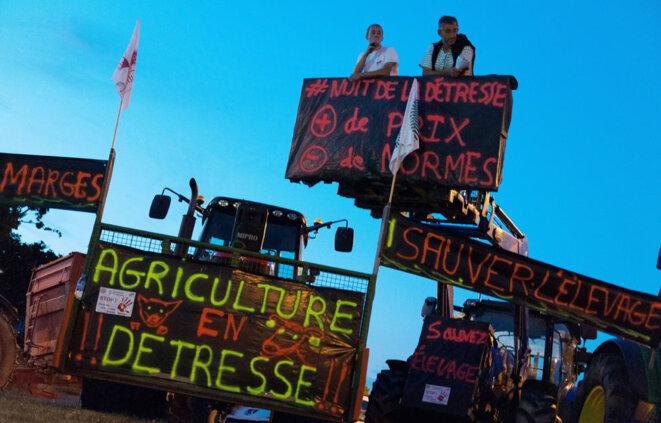 Agriculteurs en colère © SIPA Press