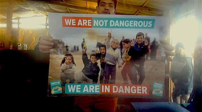 Nous ne sommes pas dangereux, nous sommes en danger