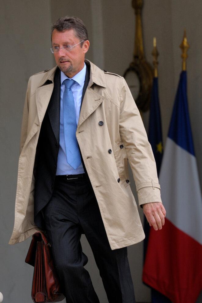 Bernard Bajolet à l'Elysée en 2012. © Reuters