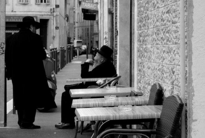 Marseille, février 2016, centre-ville © Rachida El Azzouzi