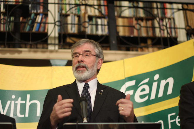 Gerry Adams. © Sinn Féin