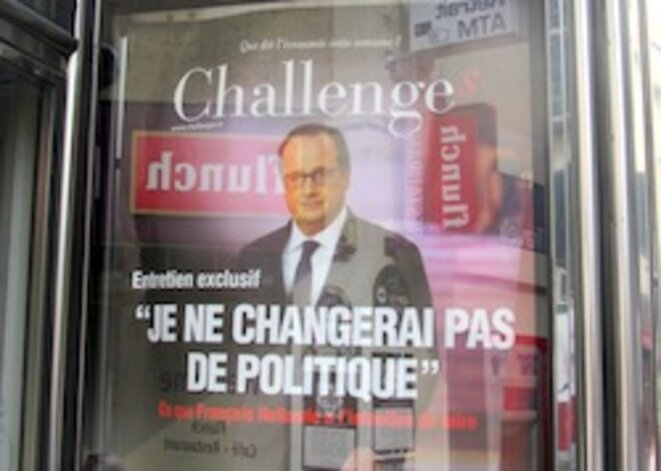 Hollande ne flanchait pas, déjà, il y a un an © pol