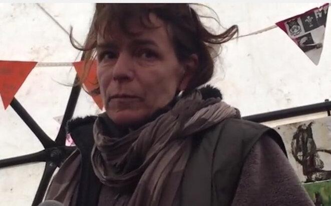 Liz Clegg, le 21 février 2016, à Calais