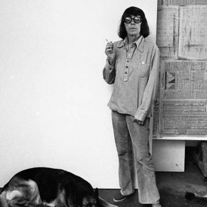 La peintre expressionniste américaine Joan Mitchell, décédée en 1992. © Joan Mitchell Foundation