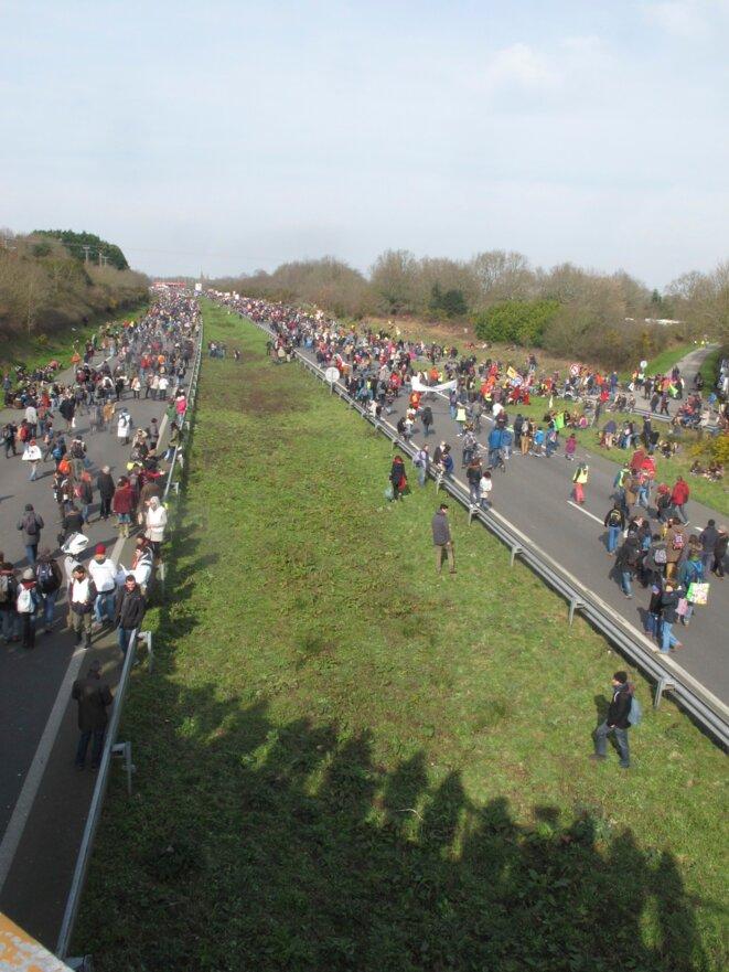 Objectif atteint. 4 voies, 50000 personnes, 1 vigie... © Pala