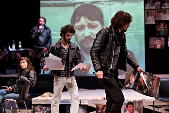 """Scène de """"Je suis Fassbinder"""" © Jean-Louis Fernandez"""