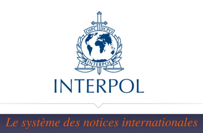 Système des Notices Interpol