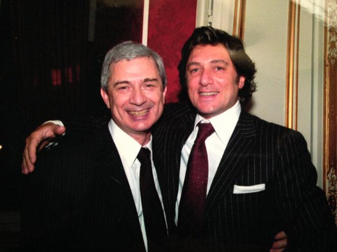 Claude Bartolone et son frère cadet René © DR