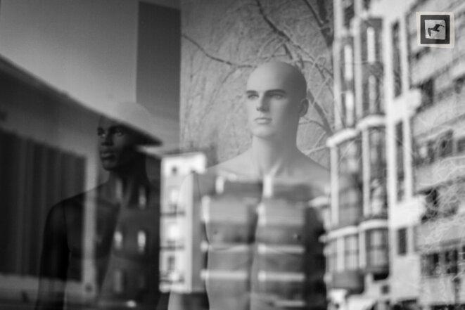 Deux mannequins © Vladimir Slonska-Malvaud
