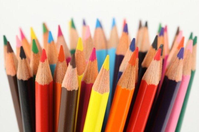Color Crayon Page