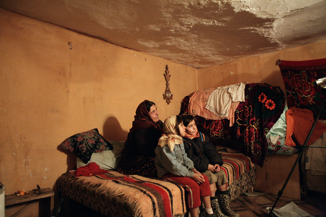 Famille rrom © Ana Dumitrescu