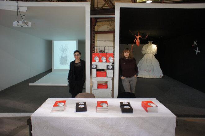 Rachel Viné-Krupa et Maud Guély © J. S. Lutz