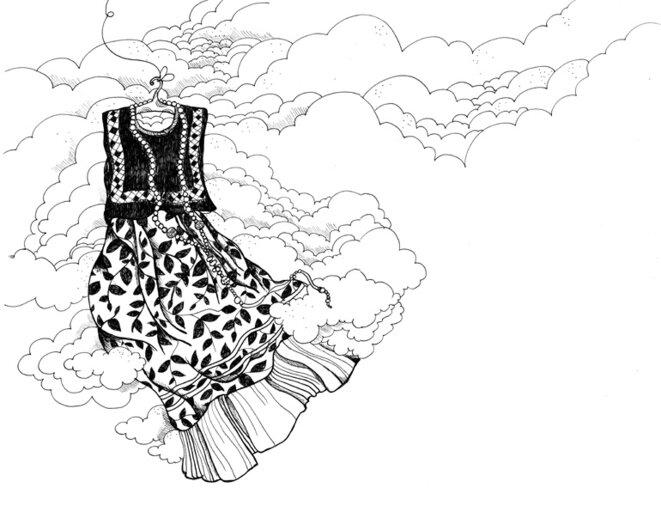 robe de Tehuana © Maud Guély / Nada Éditions