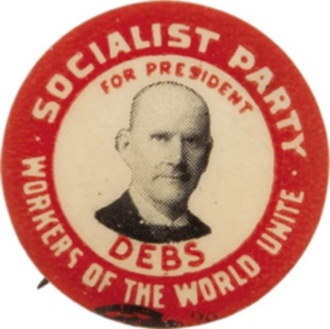 Debs fut plusieurs fois candidat à la présidentielle. © DR