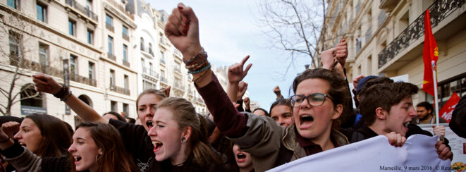Marseile, le 9 mars. © Reuters