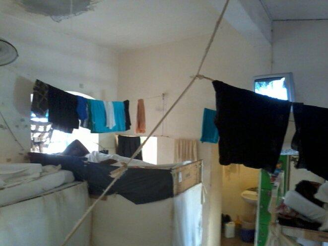 Une cellule de la maison d'arrêt de Basse-Terre © DR