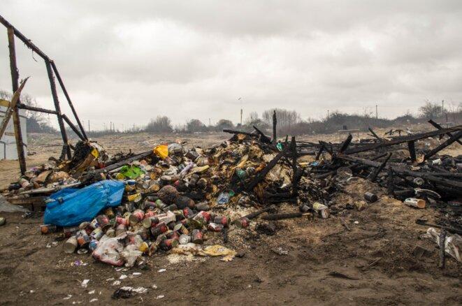 Après le passage des bulldozers © Paul Béjannin