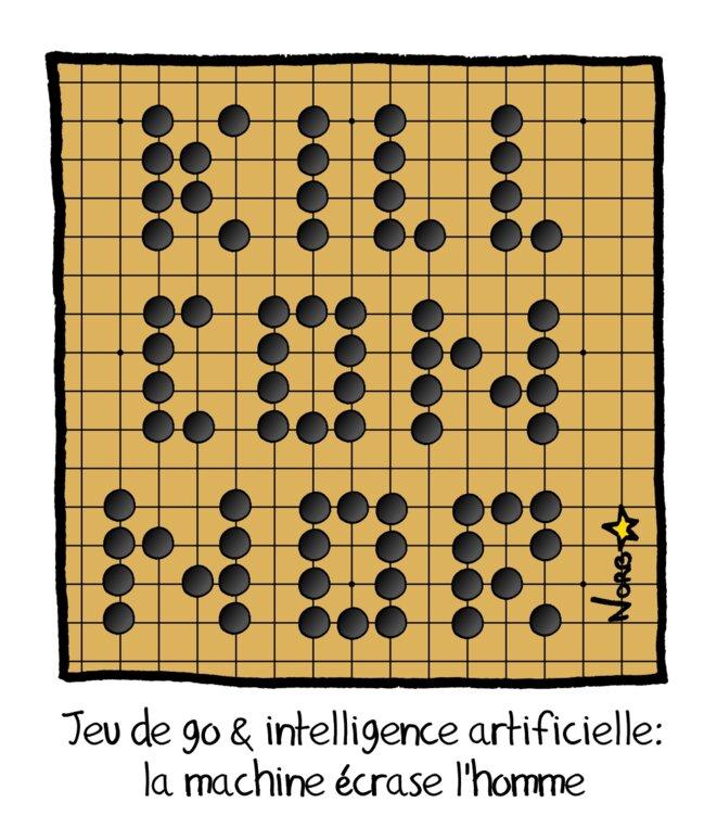 Go & intelligence artificielle: la machine écrase l'homme © Norb