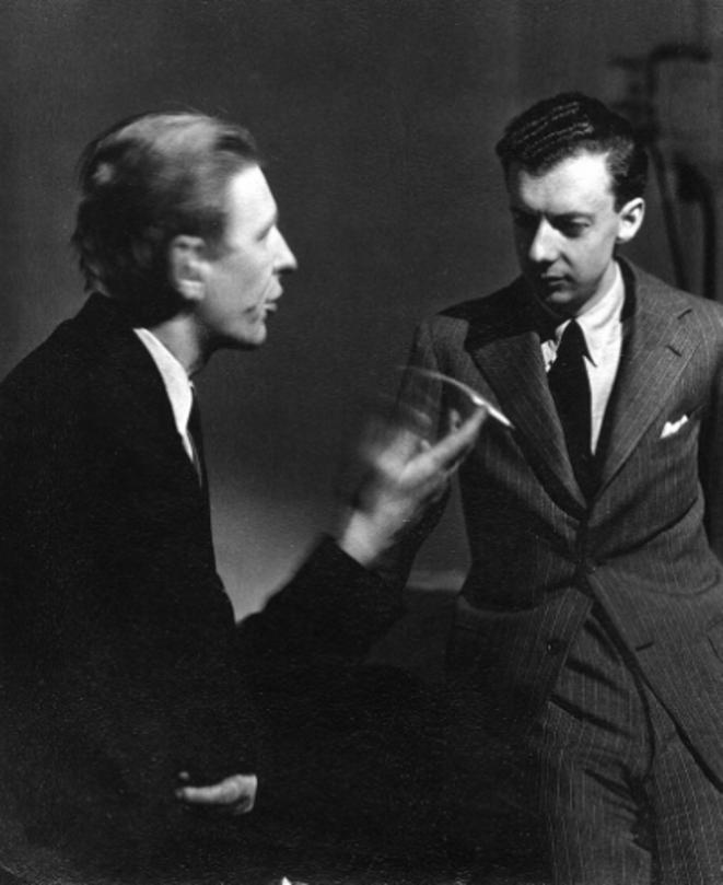 Auden et Britten à New York en 1941