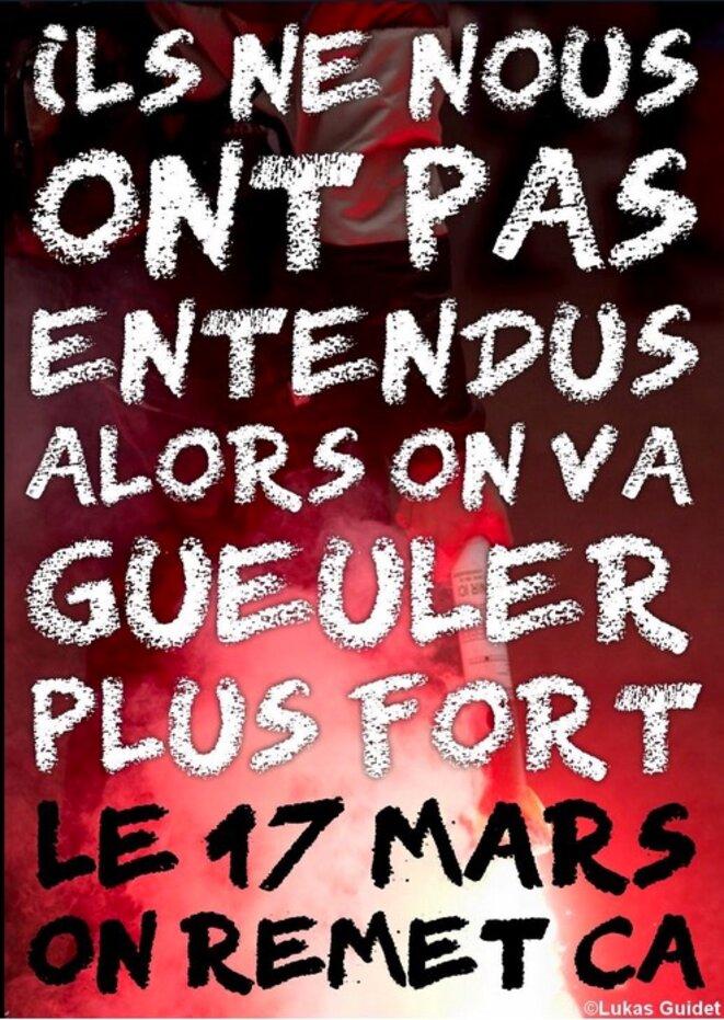 Proposition d'affiche sur le hashtag #OnVautMieuxQueCa