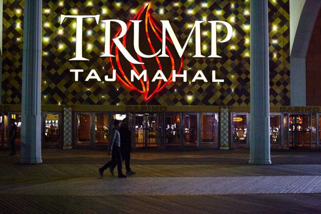 Le Trump Taj Mahal d'Atlantic City © Alex Troesch