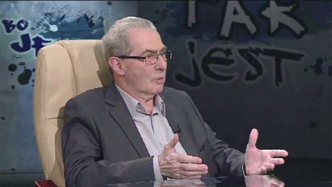 Karol Modzelewski, mars 2016 © TVN 24