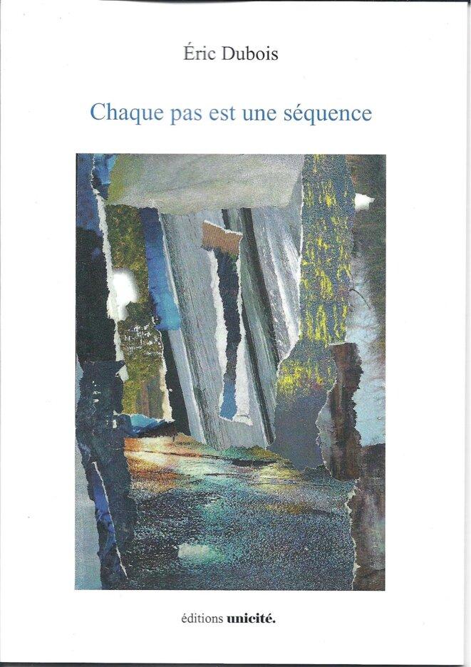Chaque pas est une séquence. Eric Dubois. Editions Unicité,2016. Illustration de couverture : © Ghislaine Lejard
