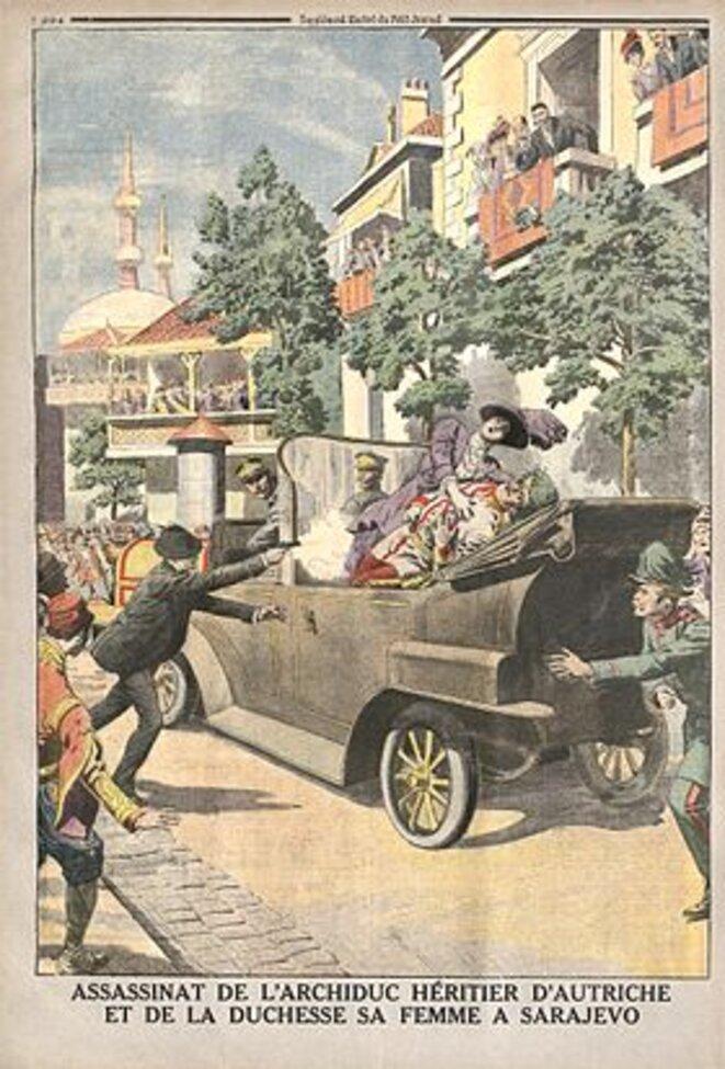 Quatrième de couverture du Petit Journal du 2 juillet 1914