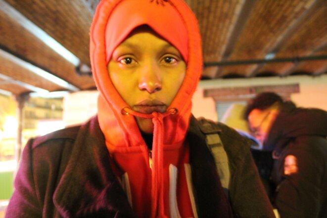 femme-refugiee-campement-de-stalingrad © MBP