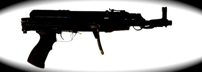Le VZ-58 de Coulibaly retrouvé dans l'Hyper Cacher. © DR