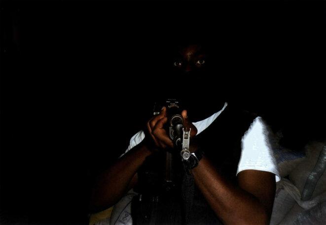 Photo d'un djihadiste français de retour de Syrie récupérée dans son téléphone. © DR
