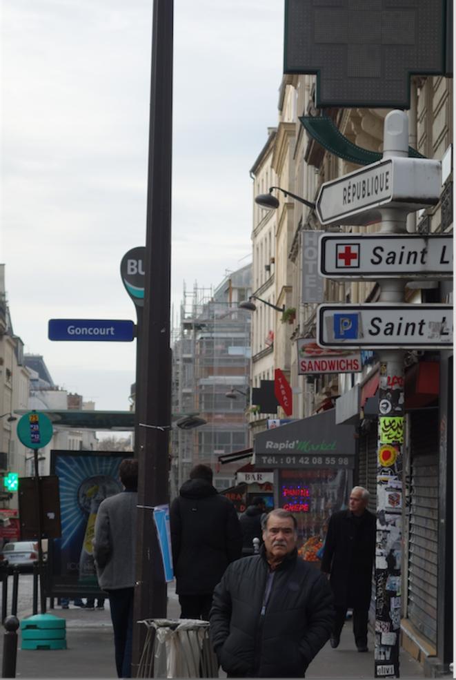 dans la rue du faubourg du Temple © sylviegroueff