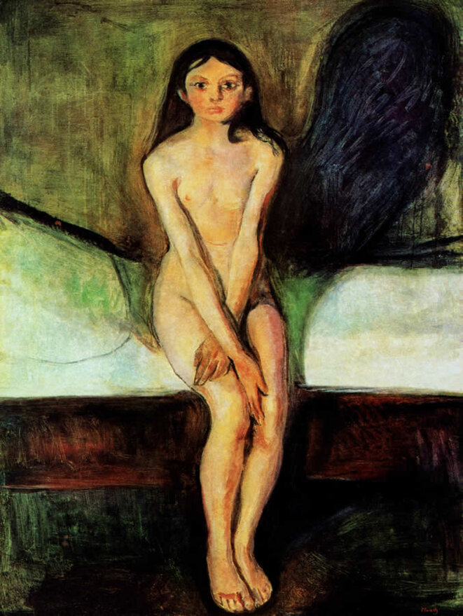 Puberté - 1893 © Munch